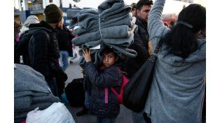 Gran cantidad de niños llegan a Europa sin compañía de mayores.