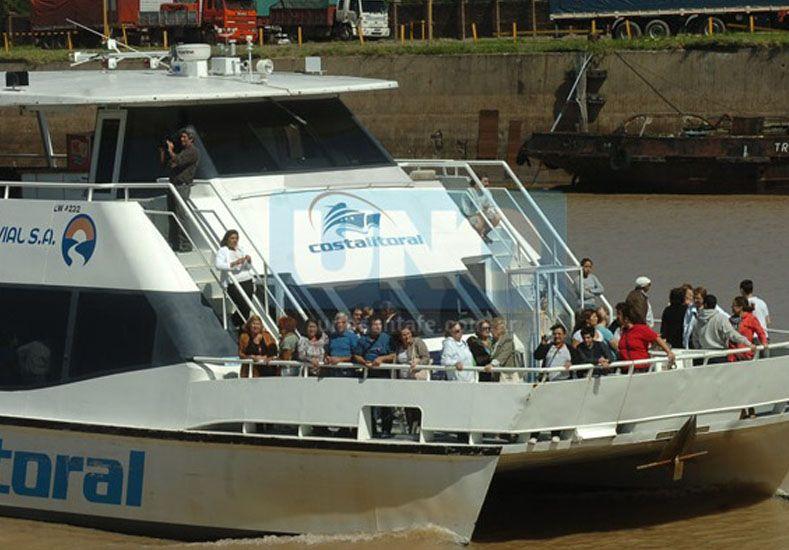 Paseos náuticos: vuelve a prestar servicios el Catamarán Costa Litoral