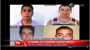 Cuatro presos se fugaron de una cárcel de La Pampa
