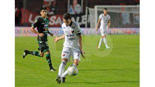 Pablo Ledesma marcó uno de los goles de Colón en el amistoso frente a Newells / Foto: Manuel Testi - Uno Santa Fe
