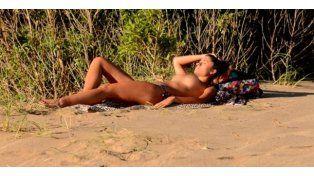 Florencia Zaccanti derritió las playas de Mar del Plata