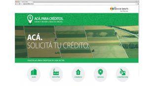 En sólo 45 días, el nuevo micriositio del Banco Santa Fe recibió más de 800 solicitudes de créditos online