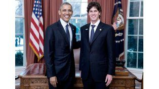 Lousteau presentó sus cartas credenciales ante Obama