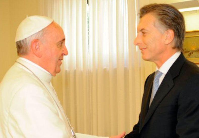 El papa Francisco recibirá a Macri el 27 de febrero en el Vaticano