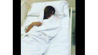 Isabel Macedo debió volver a Buenos Aires para ser operada de urgencia