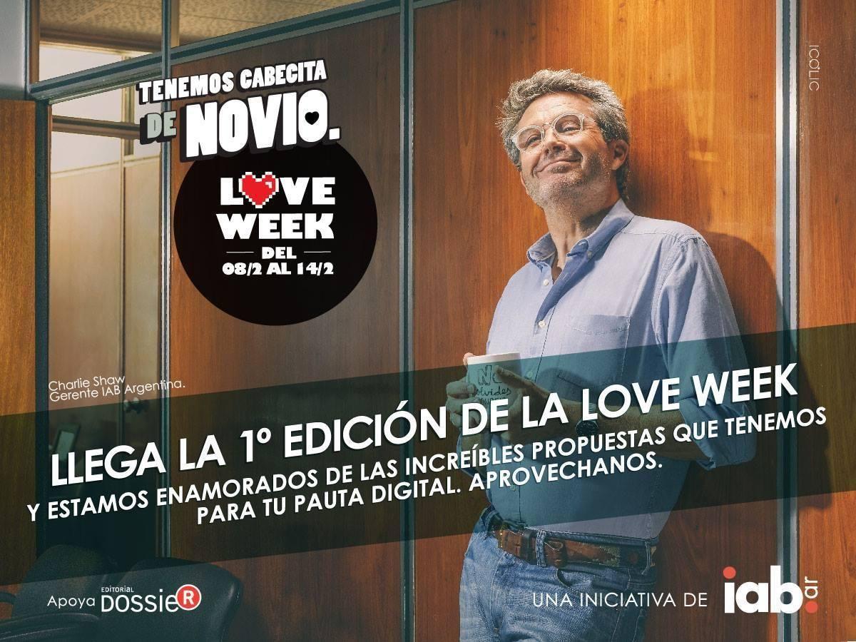 Love Week, la propuesta de la industria digital para el Día de los Enamorados