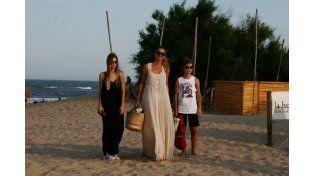El look canchero de Marcelo Tinelli en Punta del Este: fotos