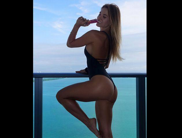 Jésica Cirio trabajó un mes en Miami y hay resultados bien hot