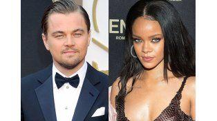 Leonardo DiCaprio y Rihanna: filtran foto de actores a los besos