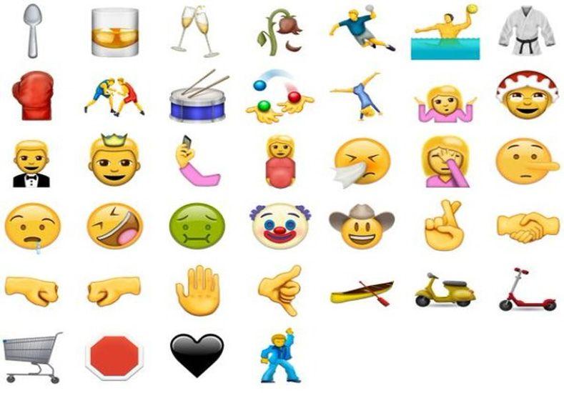 A mitad de año lanzan 74 nuevos emojis