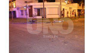 Un joven de 28 años falleció tras chocar con su moto en Avenida Galicia y Lavalle.