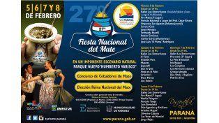 Suscribite al UNO y llevate entradas para la Fiesta Nacional del Mate