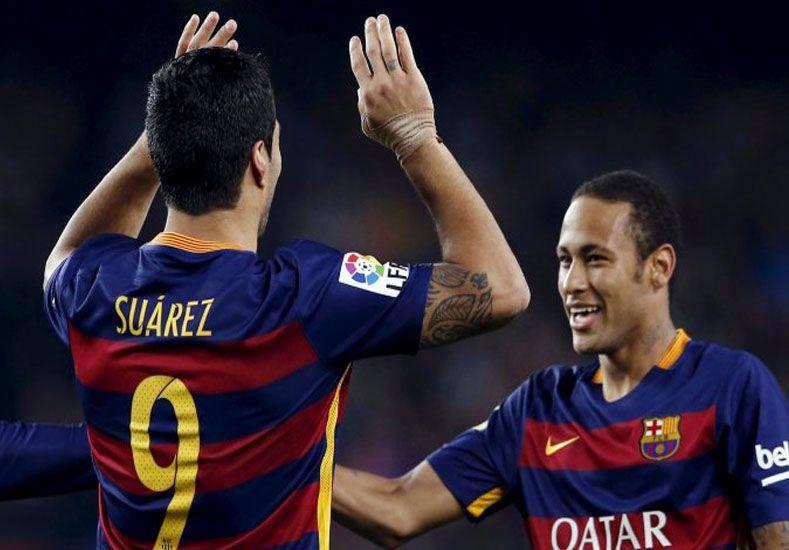 El cariñoso saludo de Neymar a Luis Suárez para su cumpleaños