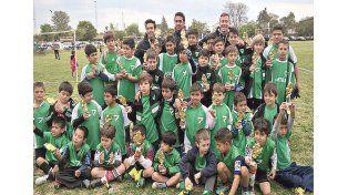 Premio. Las divisiones menores tuvieron una destacada participación con el subcampeonato en Copa de Plata.