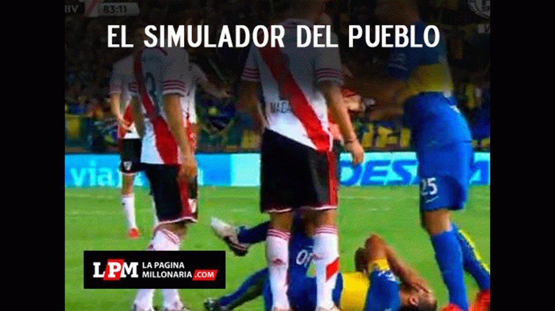 Tevez y Osvaldo, epicentro de los afiches de River contra Boca