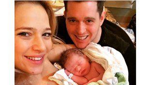 Las nuevas fotos de Elías, el hijo de Luisana Lopilato y Michael Bublé