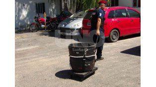 Secuestran una granada, armas de fuego y estupefacientes en Santo Tomé