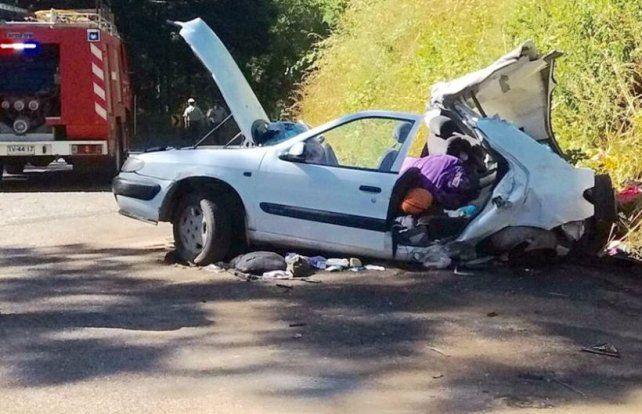 Dos argentinos fallecieron tras un accidente en Chile y hay tres internados en grave estado