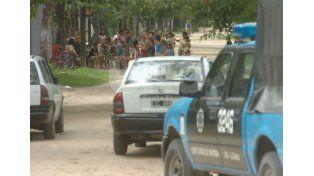 Por seguridad. Este viernes los vecinos de Rincón se reunieron para pedir una solución a los robos.