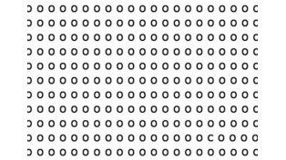 Test para la vista: ¿podés encontrar la C entre todos los ceros?