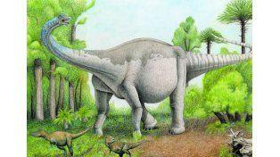 Descubrieron en Mendoza un dinosaurio que sería el más grande del mundo