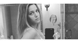 Luisana Lopilato disfruta de sus últimos días de embarazo
