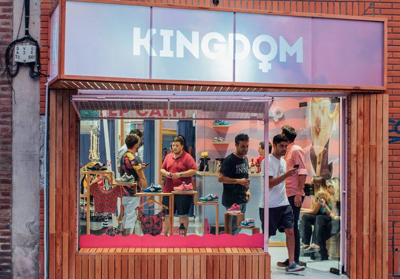 Kingdom inauguró su nuevo local para mujeres