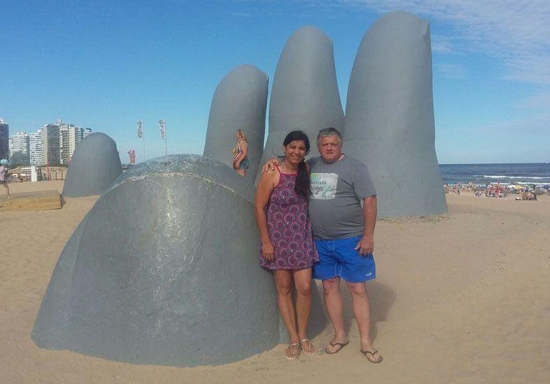 Vacaciones en Punta del Este.