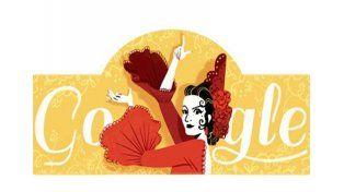 Google homenajea el 93° nacimiento de Lola Flores
