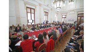 Se realizó en Santa Fe la segunda reunión del Gabinete de Emergencia de la Nación
