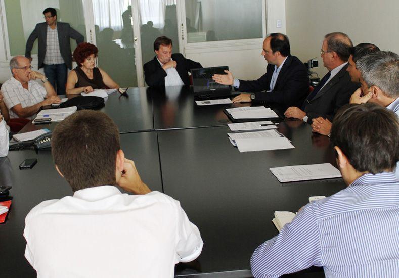 Encuentro. La reunión entre funcionarios se produjo ayer en Buenos Aires
