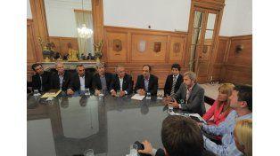 Intendentes santafesinos se reunieron con el ministro del Interior