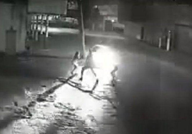 VIDEO: Atropello, mató y se dio a la fuga
