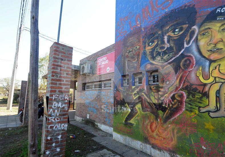 Tensión en la salud. La balacera se produjo en adyacencias al Centro de Salud Las Lomas / Foto: Mauricio Centurión - Uno Santa Fe