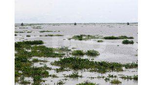 Baja el río Paraná pero siguen evacuadas 1.721 personas