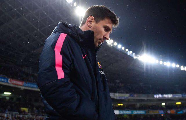 Messi tiene molestias físicas y no jugaría el miércoles
