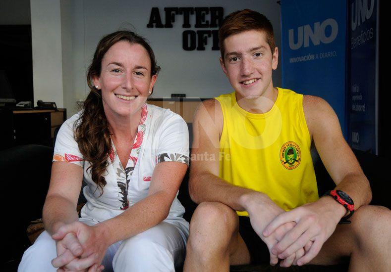 Analía Trubkin y José Grether estuvieron en el living de Diario UNO para charlar sobre el deporte.