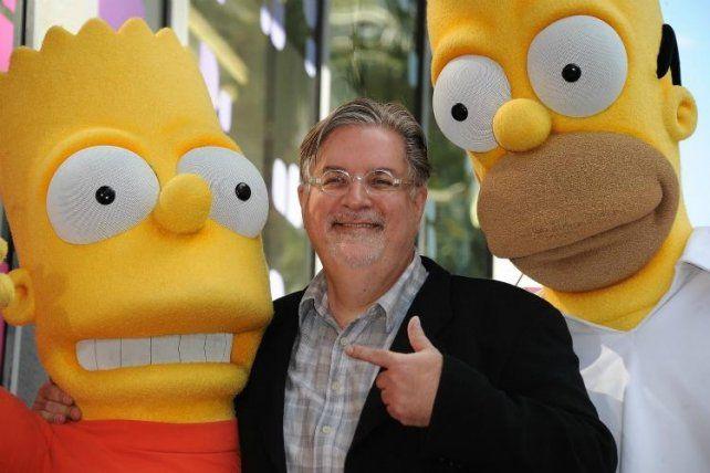 Matt Groening se suma a Netflix