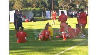Los titulares de Unión empataron sin goles frente a Quilmes en el tercer amistoso de pretemporada.