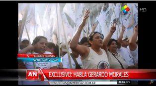 El gobernador de Jujuy negó que la de Milagro Sala sea una detención política