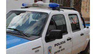 La policía de la localidad entrerriana de Las Tunas intervino ene l caso.