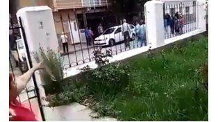 Así detenían a Milagro Sala en la puerta de su casa