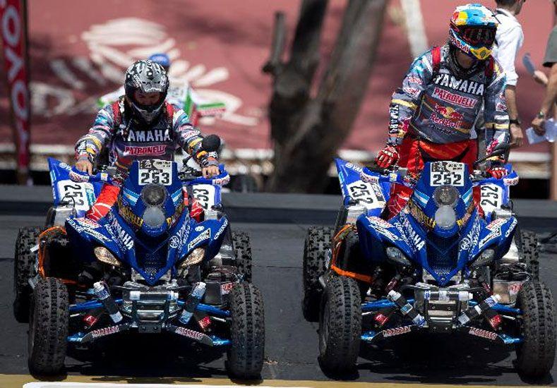 Marcos Patronelli se consagró campeón del Dakar 2016 en la categoría cuatriciclos