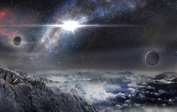 Impactante. Recreación digital de la observación de la supernova bautizada ASASSN-15lh.