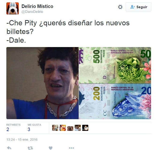 Aparecieron los  memes de los nuevos billetes