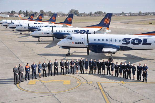 Sol confirmó el cese de actividades y lo atribuyó a la rescisión del contrato con Aerolíneas Argentinas