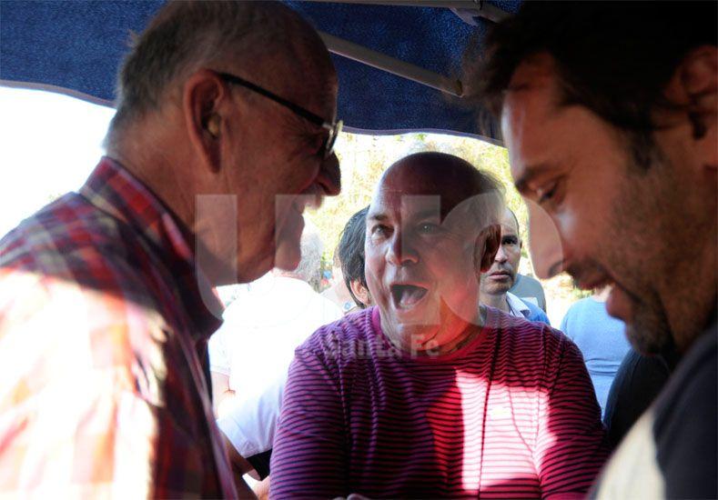 Marcelo Ferraro pretende contratar un refuerzo que le dé salto de calidad al plantel de Darío Franco / Foto: Mauricio Centurión - Uno Santa Fe