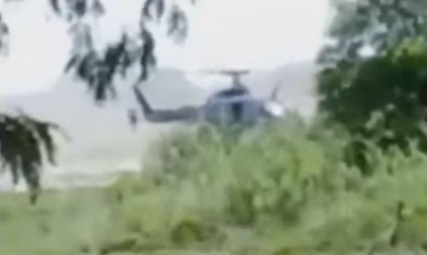 Pullaro confirmó que el helicóptero del video no es de la policía de la provincia