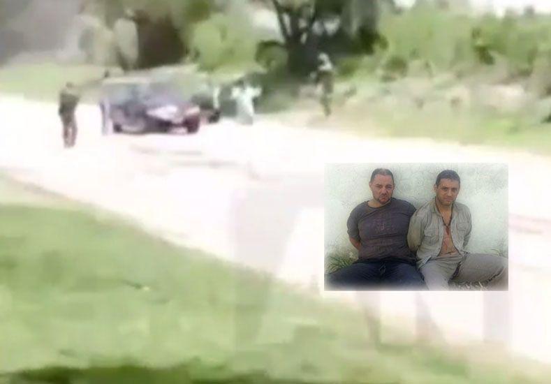 El gobierno nacional investiga un video para ver si los prófugos fueron capturados dos veces