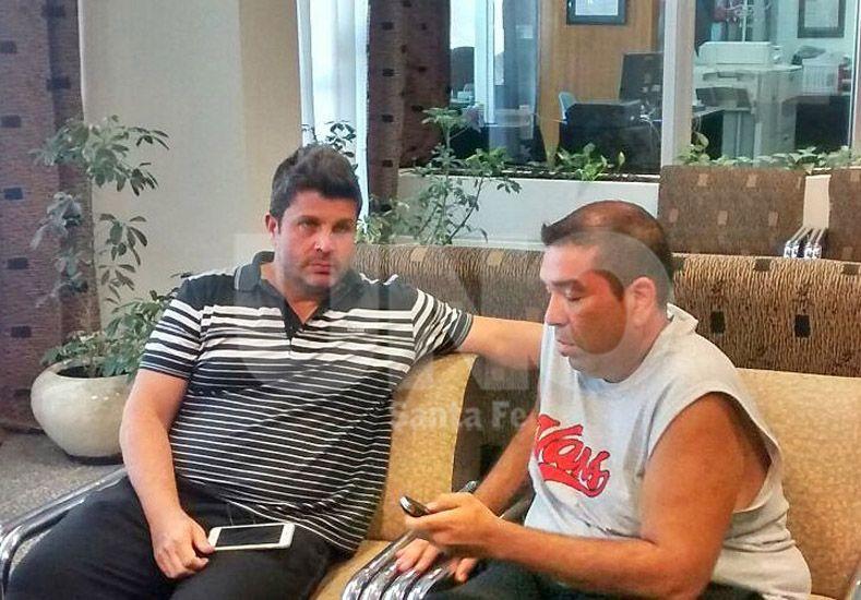 Bragarnik atendió a Ovación en el hotel donde concentra Unión en Mar del Plata tras reunirse con Madelón.